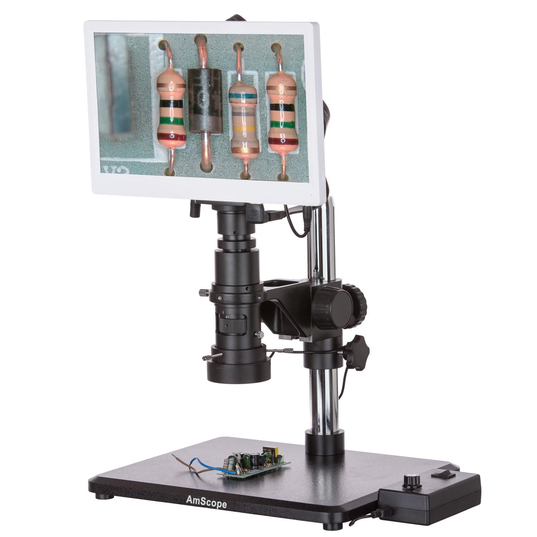 میکروسکوپ دیجیتال با نور چراغ و مانیتور 11.5