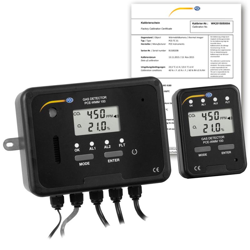 اکسیژن متر PCE-WMM 100-ICA