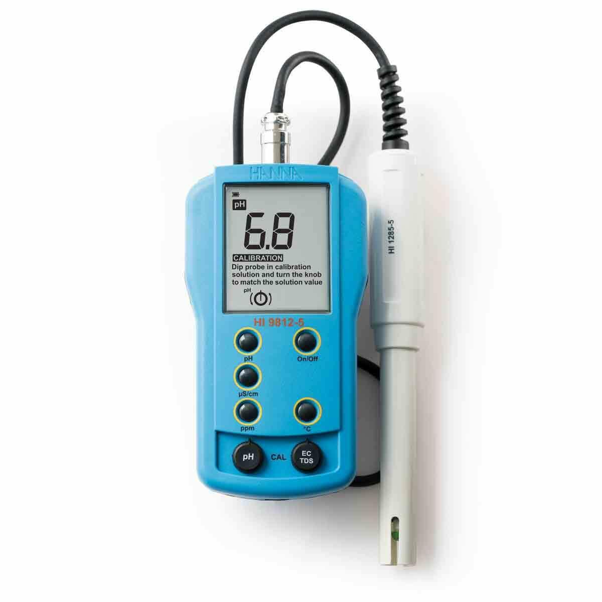 pH/EC/TDS/ متر قابل حمل - HI9812-5