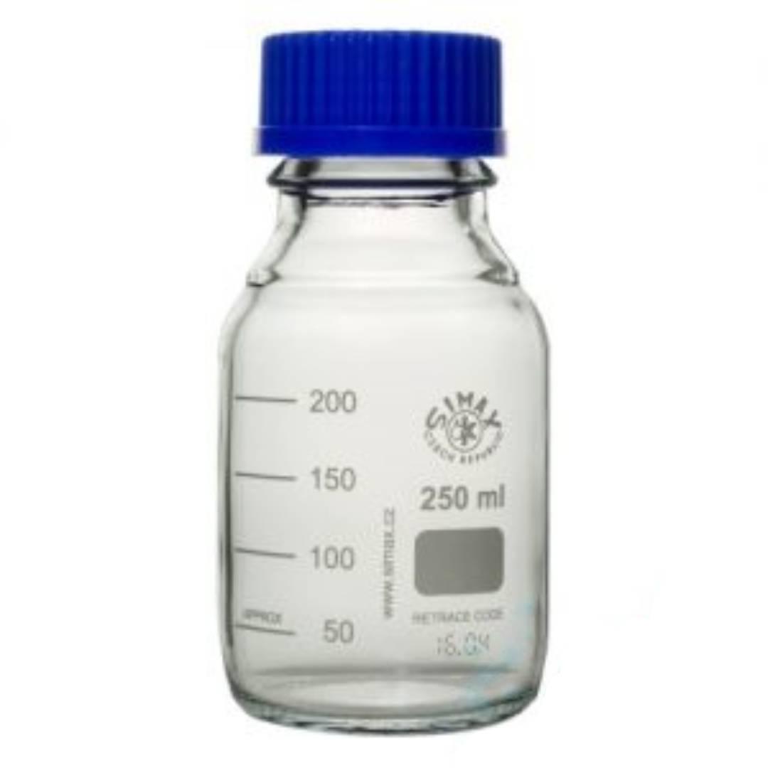 بطری در پیچ دار قابل اتوکلاو 2411